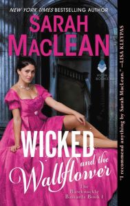 Book Cover - Wicked and the Wallflower by Sarah MacLean